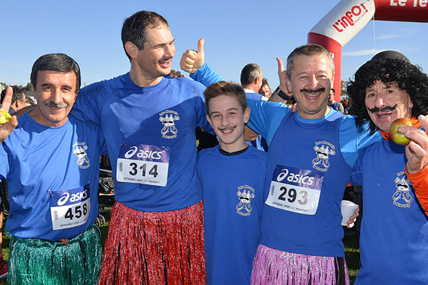 Retrouvez Les Marcels dans les villages partenaires de la Vannetaise et du Marathon de Vannes