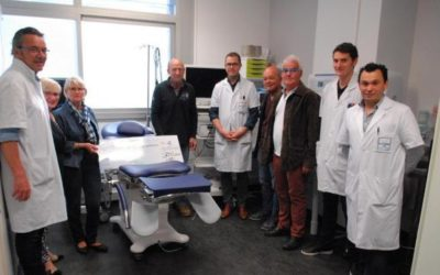 Un chèque de 3 500 € pour le service d'urologie de l'hôpital