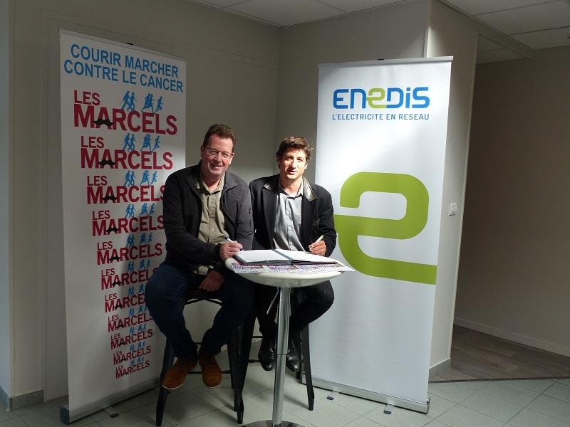 ENEDIS, partenaire des Marcels à Plescop