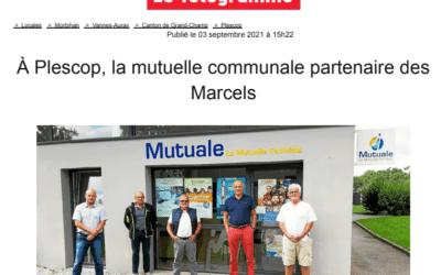Télégramme : A Plescop, la mutuelle communale partenaire des Marcels