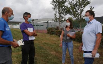 Réunion technique des Marcels avec la mairie de Plescop et Vannes Agglo