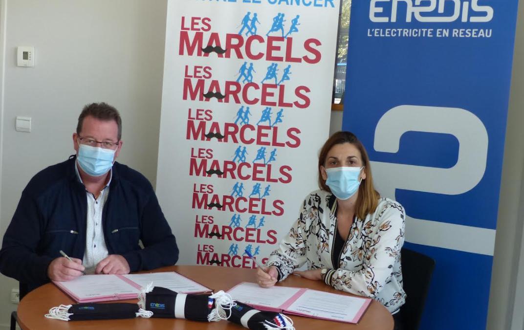 Enedis, partenaire des Marcels 2021